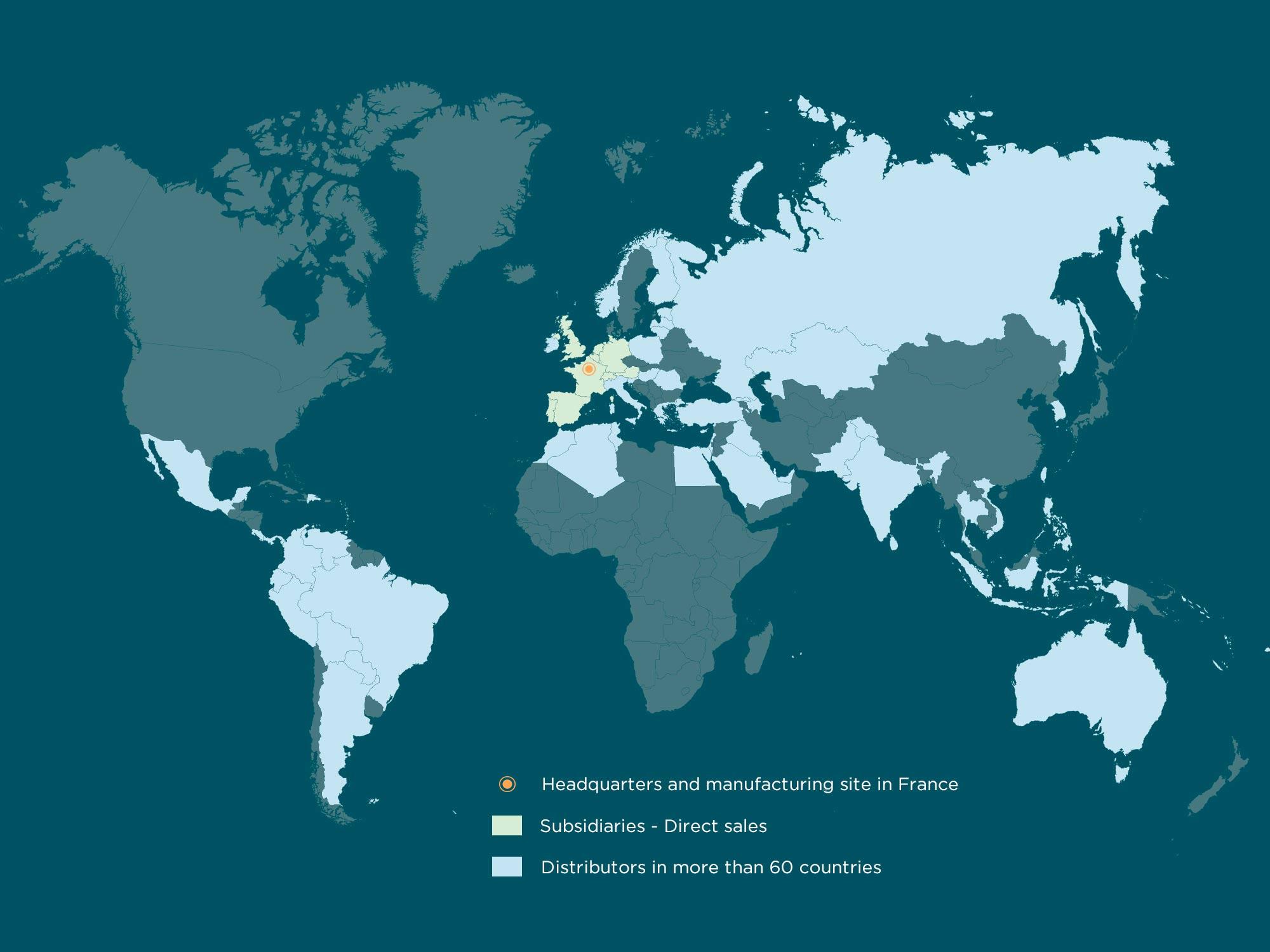 Sebbin map distributors